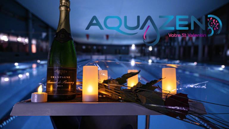 Votre Saint-Valentin à l'Aquazen 🌹